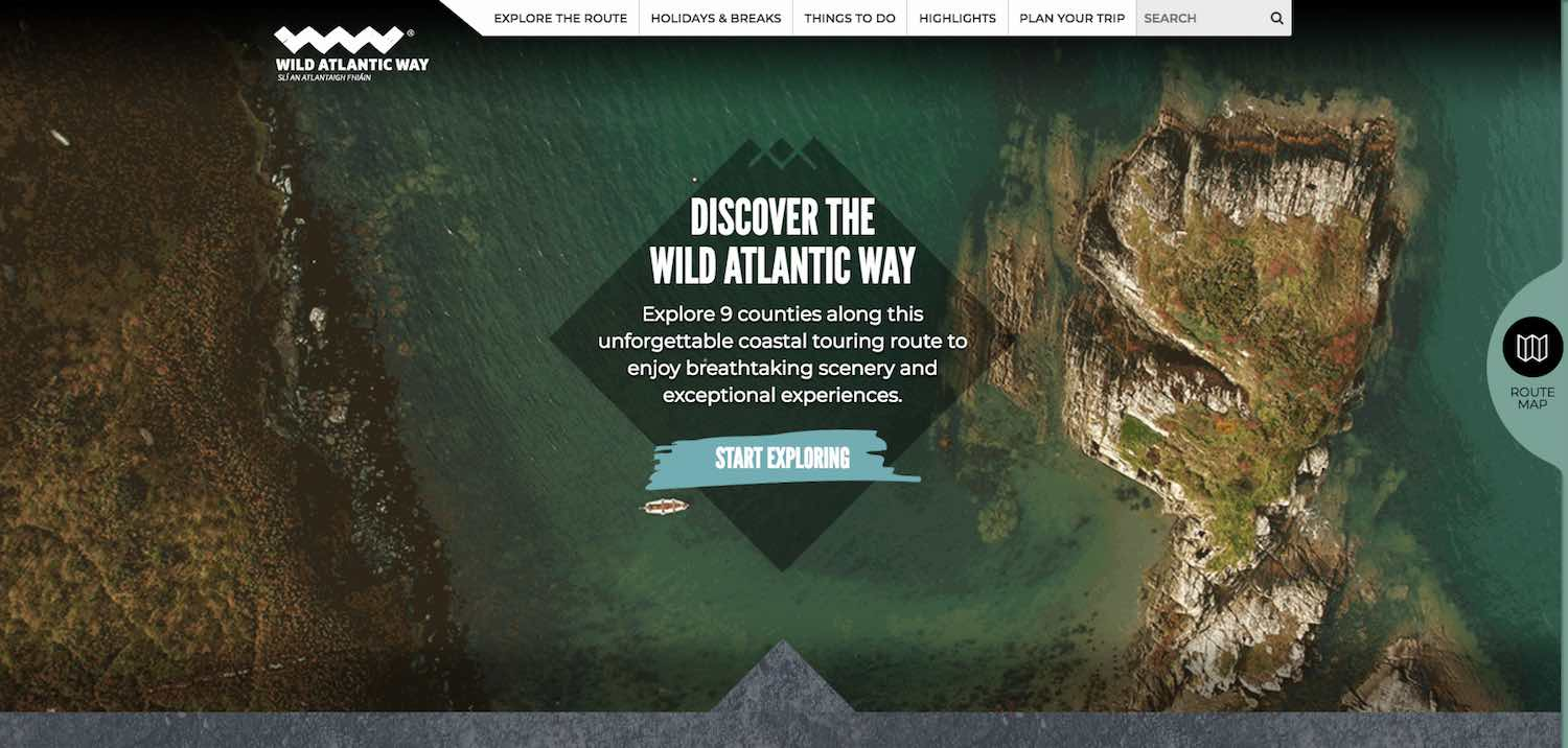 Best Tourism Website Design
