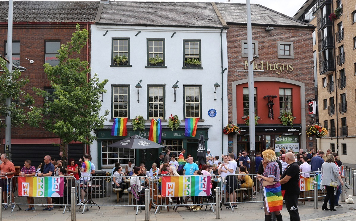 McHugh's Bar at Belfast Pride